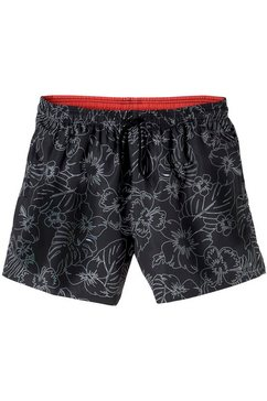 s.oliver red label beachwear zwemshort zwart