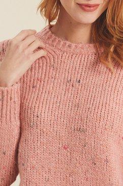 fat face gebreide trui roze