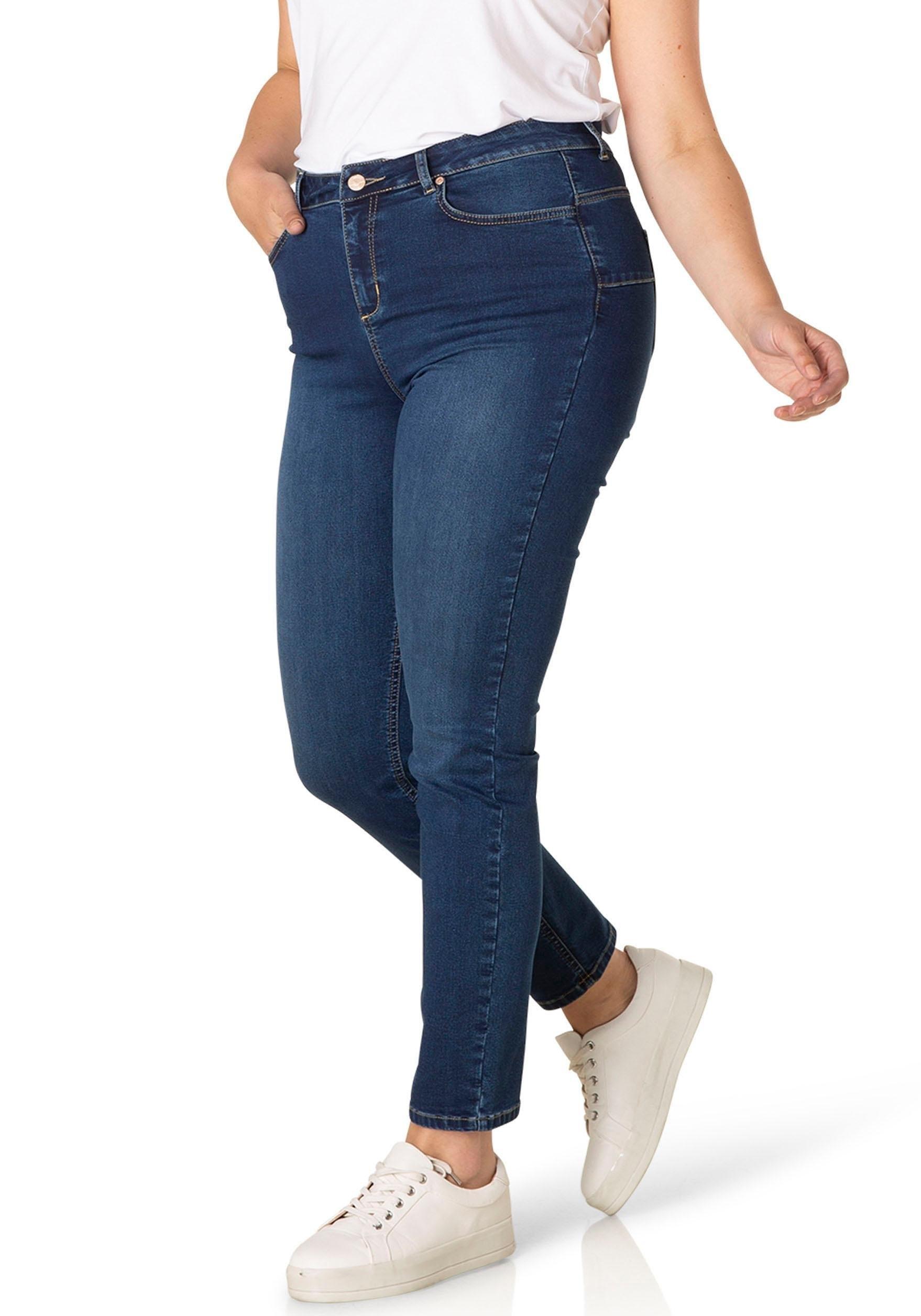 DNIM by Yesta slim fit jeans »Joya« goedkoop op otto.nl kopen
