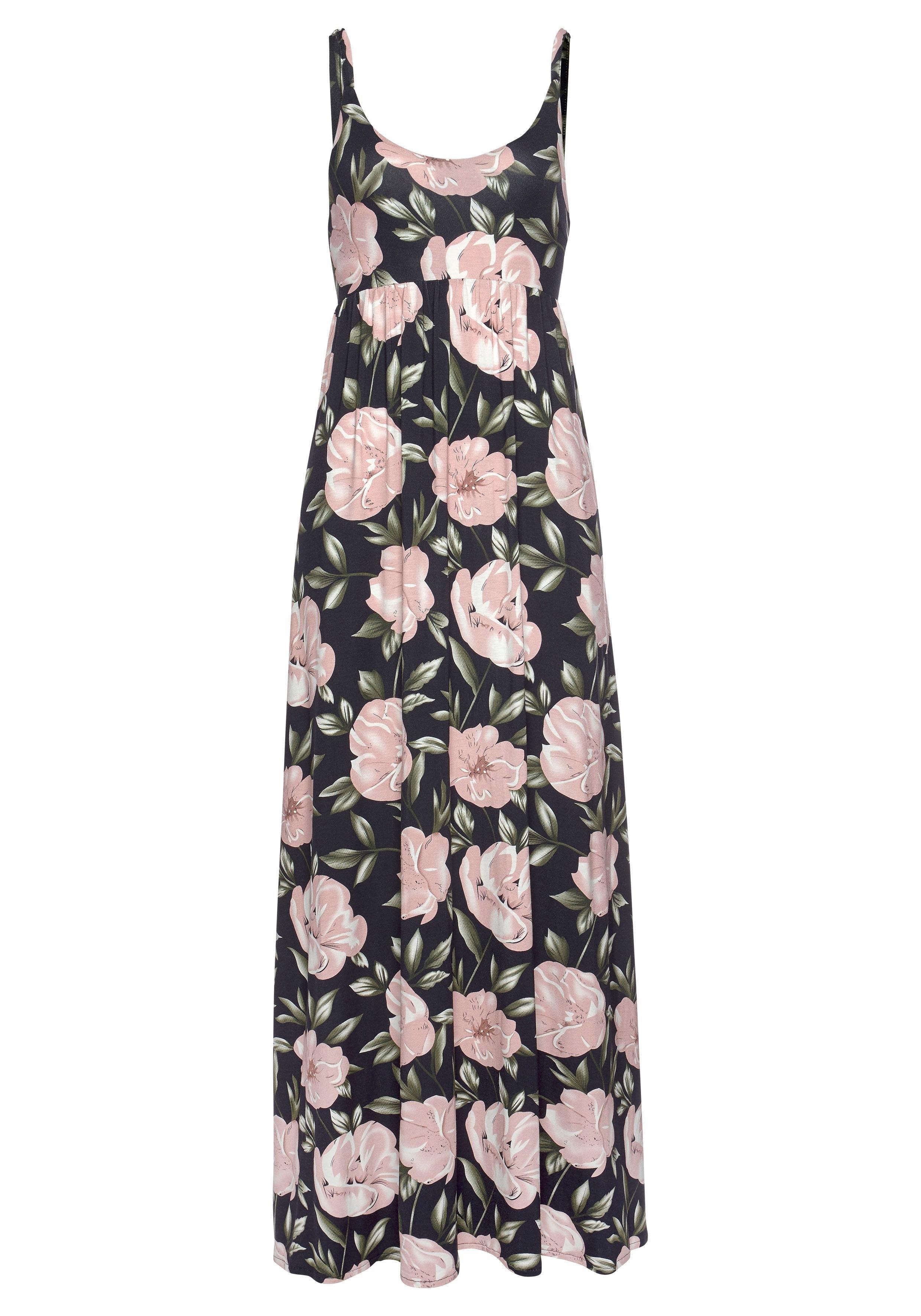 s.Oliver RED LABEL Beachwear Maxi-jurk met lage ruglijn nu online kopen bij OTTO