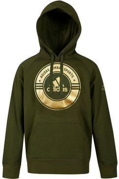 adidas performance hoodie »hoody combat sports« groen