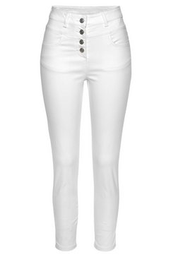 lascana highwaist-jeans wit