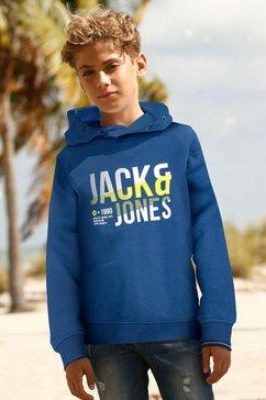 jack  jones junior hoodie blauw