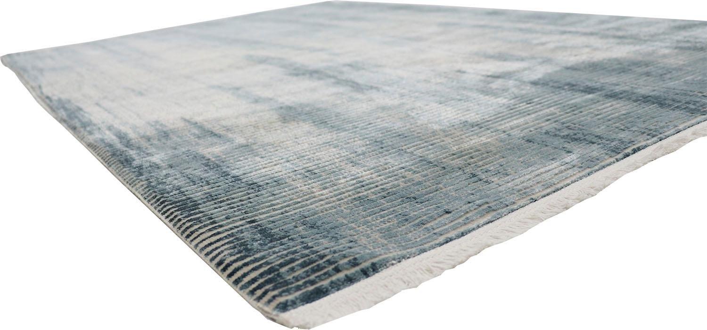 Op zoek naar een RESITAL The Voice of Carpet vloerkleed Couture 110 Korte pool, geweven, modern design, reliëfstructuur, lichte glans door viscose, met franje, woonkamer? Koop online bij OTTO