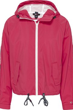 tommy jeans windbreaker »tjw branded sleeves windbreaker« roze