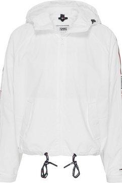 tommy jeans windbreaker »tjw branded sleeves windbreaker« wit