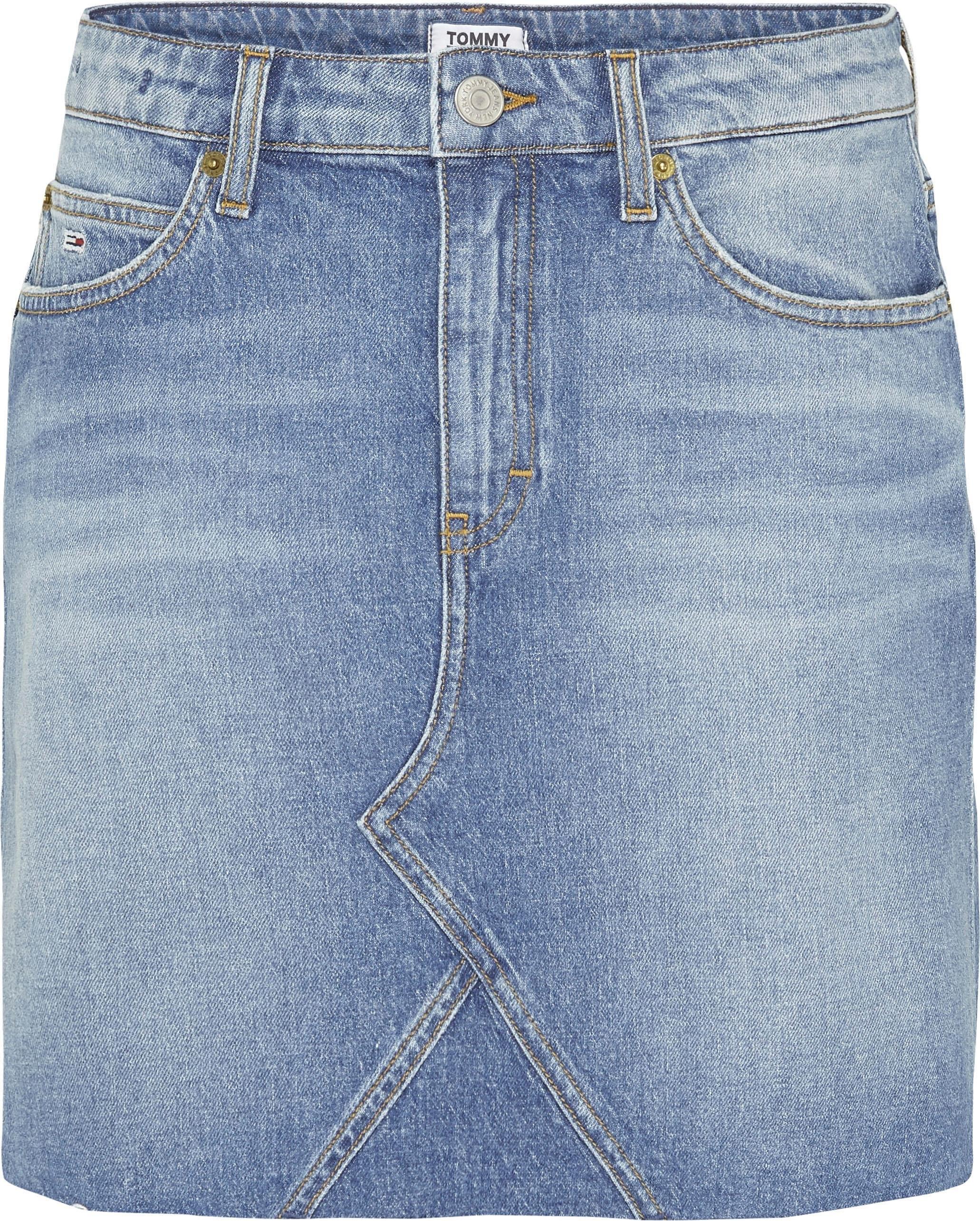 Tommy Jeans jeansrok »SHORT DENIM SKIRT ANMB« veilig op otto.nl kopen