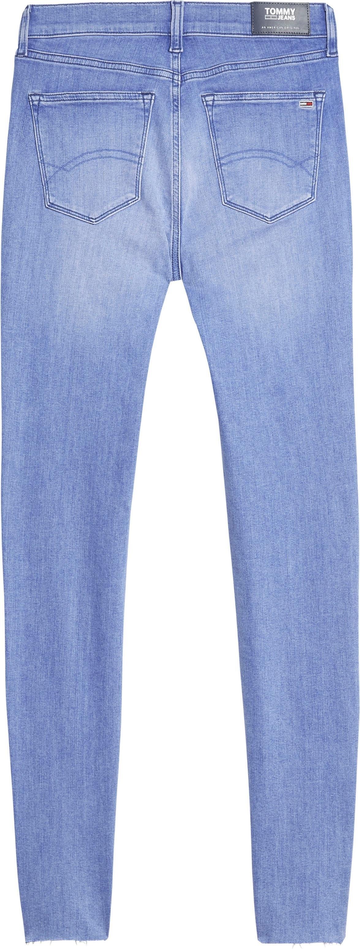 TOMMY JEANS skinny fit jeans »NORA MID RISE SKINNY ANKLE DLYDK« bestellen: 30 dagen bedenktijd