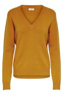 jacqueline de yong trui met v-hals »marco« geel
