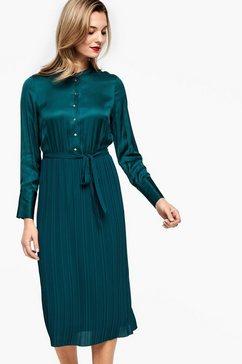 s.oliver black label jurk groen