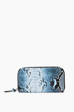 s.oliver portemonnee in colour block look blauw
