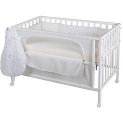 roba ledikantje »room bed, safe asleep, sternenzauber weiss«, 4-tlg. weiß