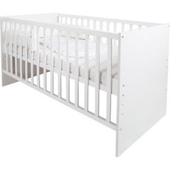 roba compleet bed »safe asleep sternenzauber«, 4-tlg. wit