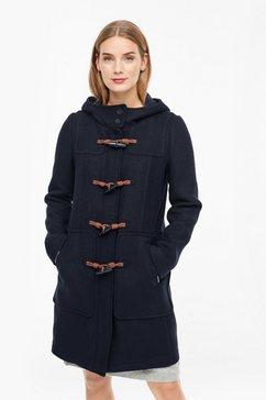 s.oliver duffelcoat blauw