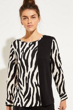 comma blouse braun
