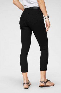 lee skinny jeans »scarlett cropped« zwart