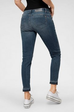 blue fire ankle jeans »alicia« blauw