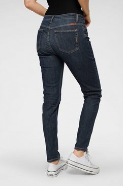 blue fire stretch jeans »lara« blauw