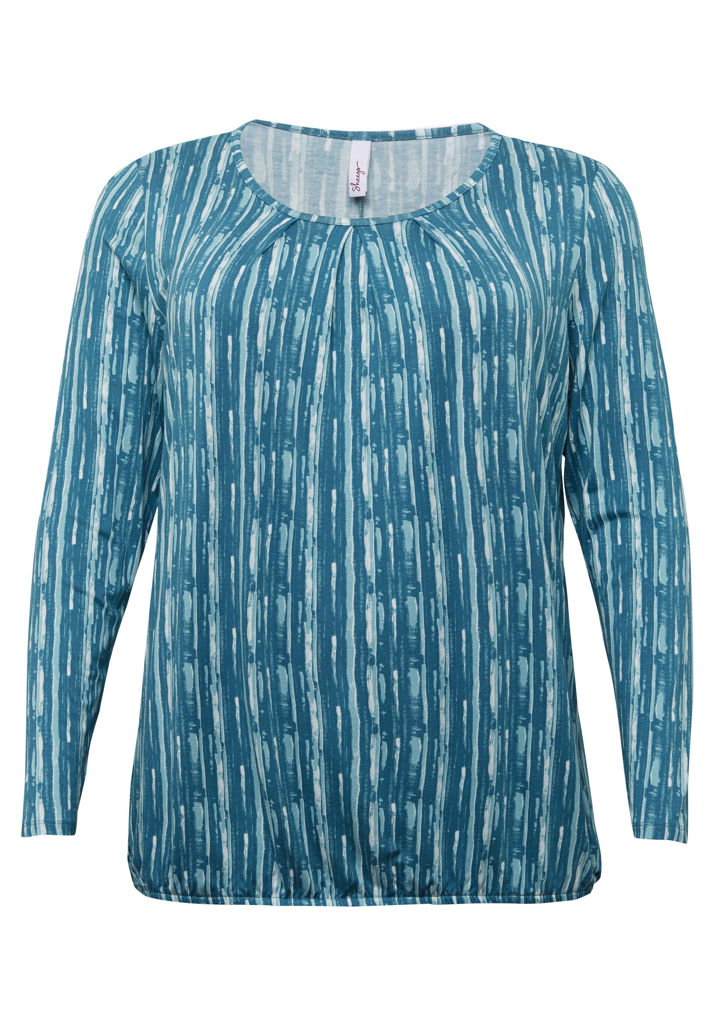Sheego Casual Shirt Met Lange Mouwen Nu Online Bestellen - Geweldige Prijs