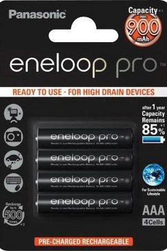 panasonic batterij eneloop pro (set) zwart