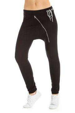 winshape harembroek »unisex zipperhose wh4« zwart