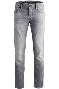 jack  jones slim fit jeans »tim leon« grijs
