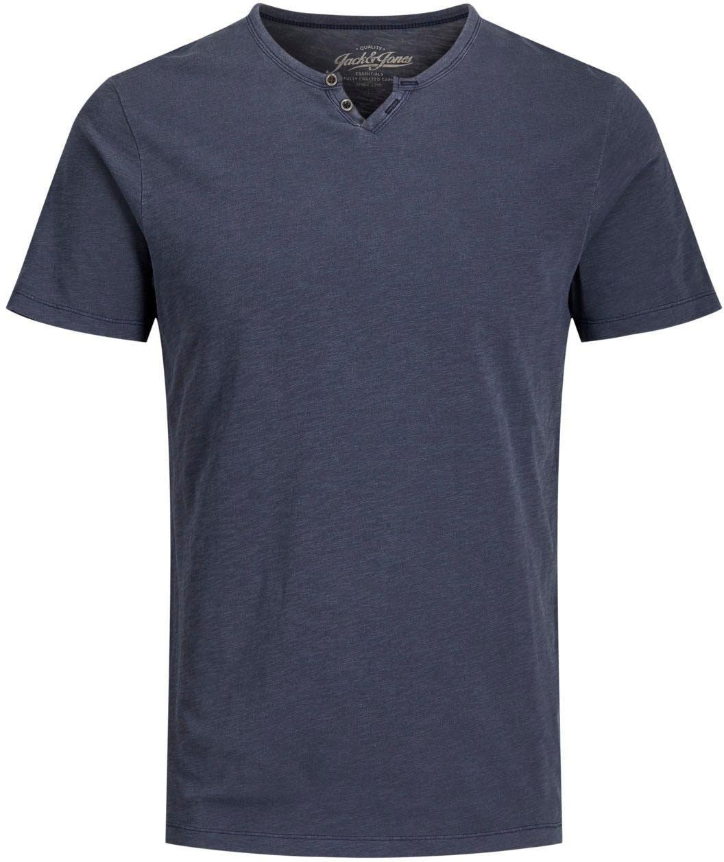 Jack & Jones shirt met V-hals »Split V Neck Shirt« veilig op otto.nl kopen