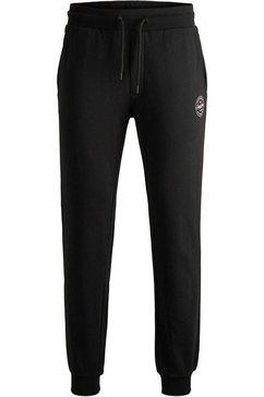 jack  jones joggingbroek »gordon shark sweat pants« zwart