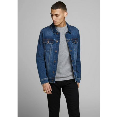 JACK & JONES JEANS INTELLIGENCE spijkerjas blue denim