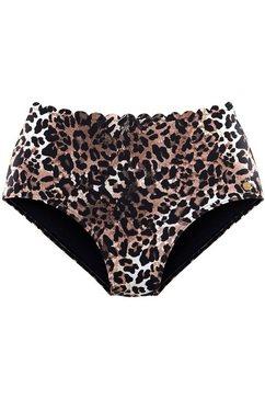 lascana highwaist-bikinibroekje »lexa« bruin