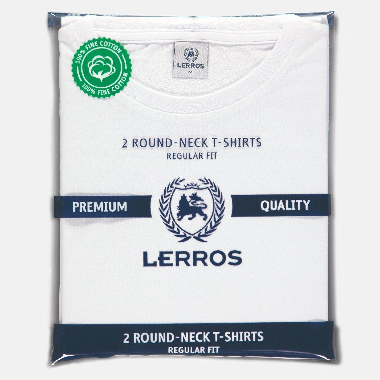 Lerros Two-pack t-shirts ronde hals in de webshop van OTTO kopen