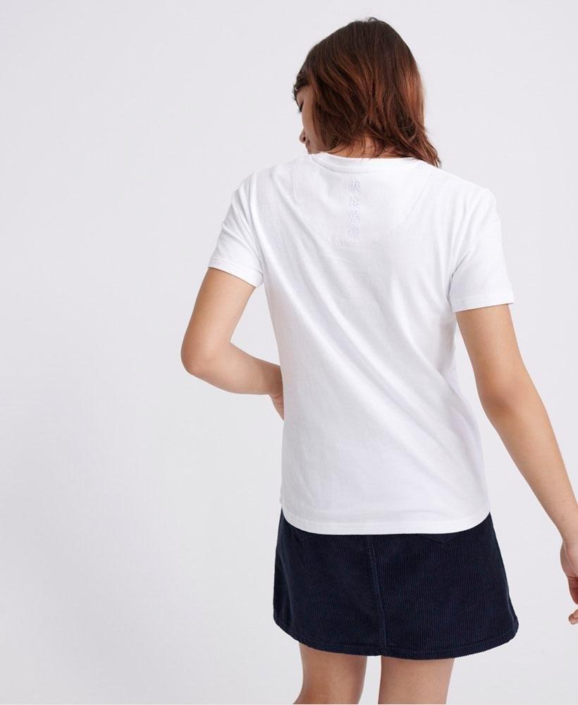Superdry T-Shirt »VL GLOSS FLORAL ENTRY TEE« bij OTTO online kopen