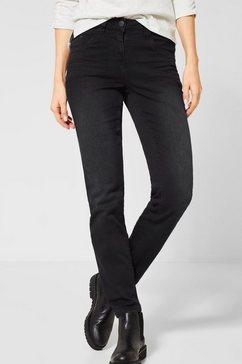 cecil slim fit jeans zwart