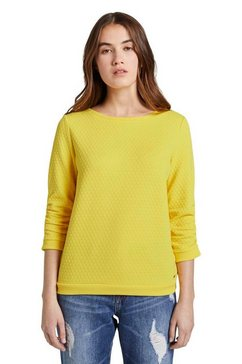 tom tailor denim sweatshirt geel