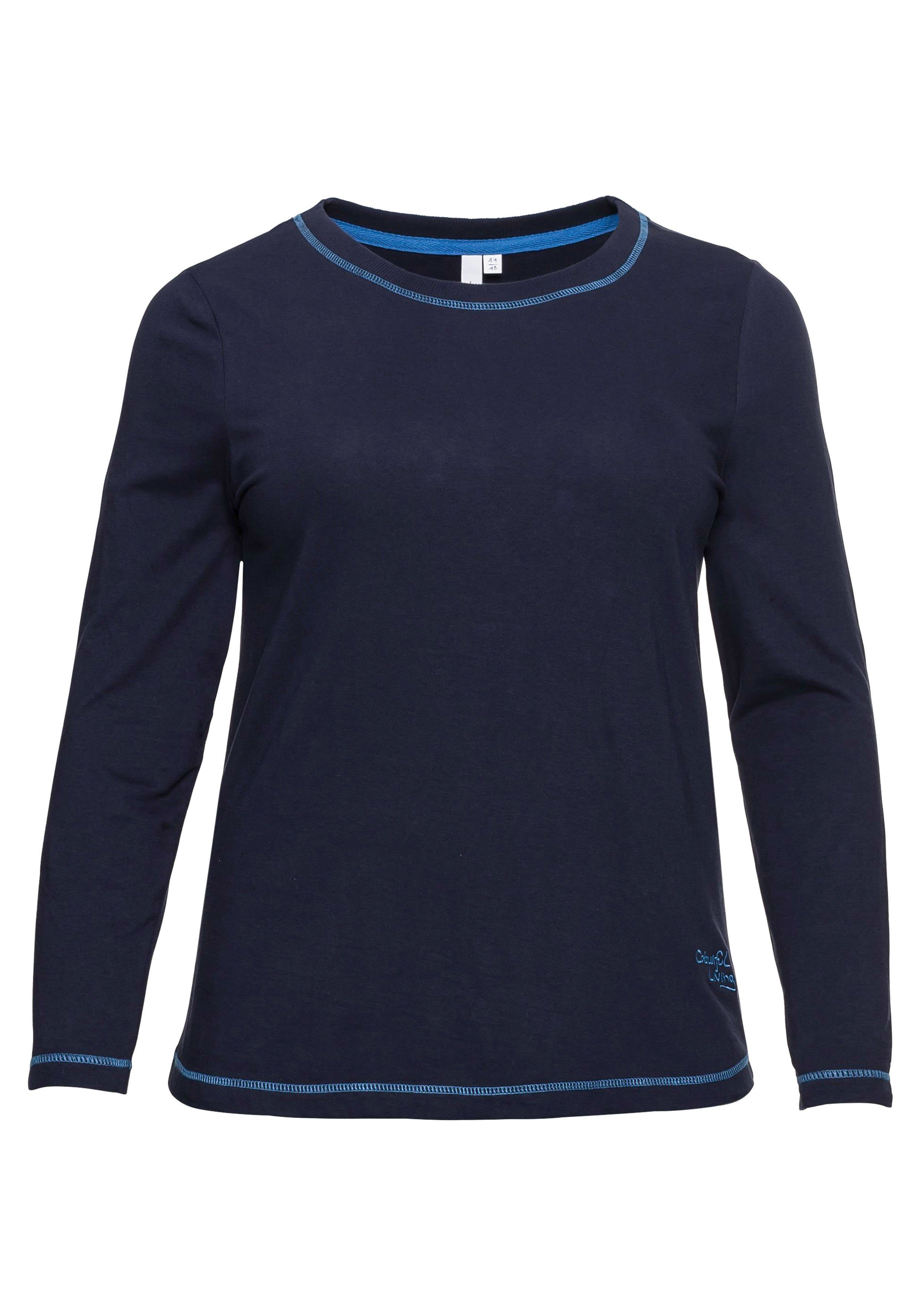 Sheego Casual Shirt Met Lange Mouwen In De Online Winkel - Geweldige Prijs