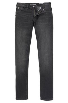 tom tailor denim 5-pocket jeans zwart