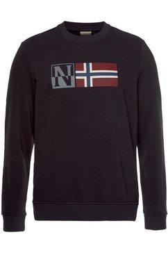 napapijri sweatshirt zwart