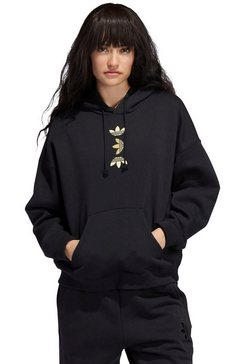 adidas originals hoodie »large logo hoodie« zwart