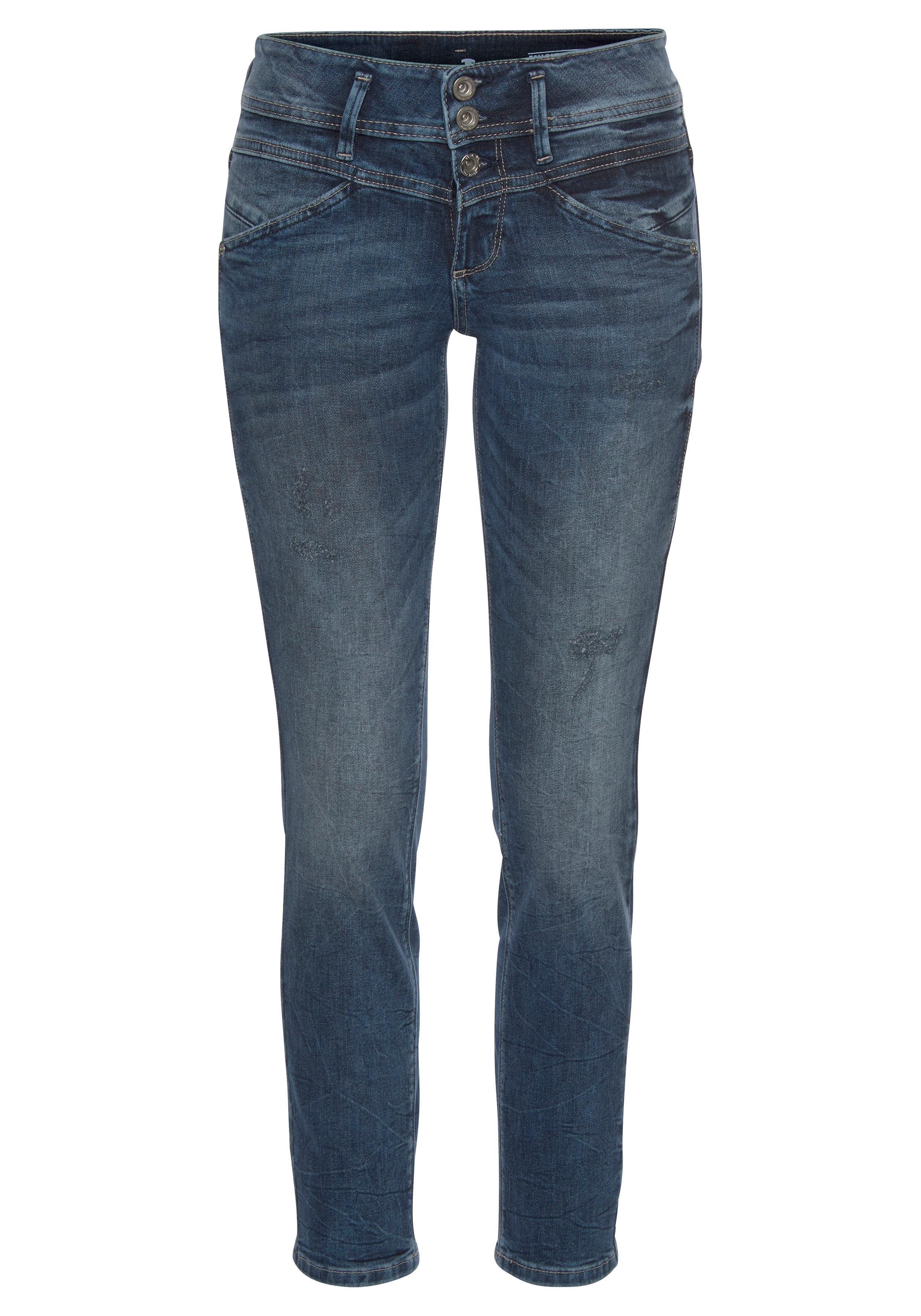 TOM TAILOR slim fit jeans »Alexa slim« online kopen op otto.nl
