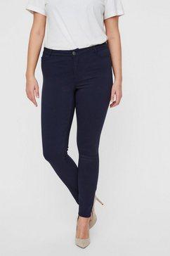 junarose regular waist slim fit jeans blauw
