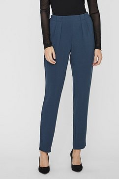 vero moda high waist broek grijs