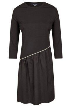 daniel hechter modieuze asymmetrische jurk zwart