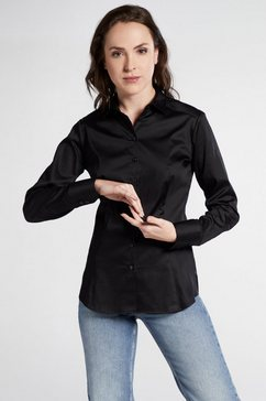 eterna lange mouw blouse »modern classic« zwart
