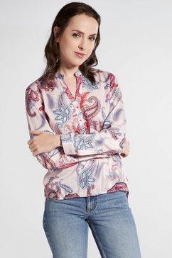 eterna lange arm blouse »modern classic uni« roze