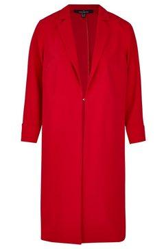 daniel hechter moderne jas in eenvoudig design rood