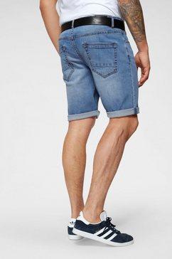 john devin jeansshort blauw