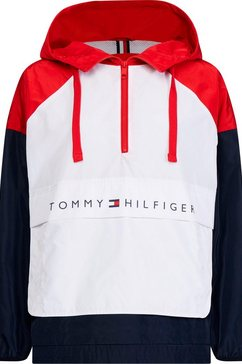 tommy hilfiger windbreaker »cory packable popover« wit