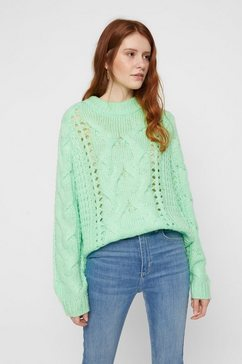 pieces drop-stitch trui groen