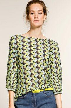 bianca blouse zonder sluiting »anra« groen