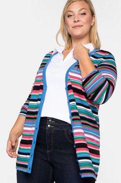 sheego casual lang vest multicolor